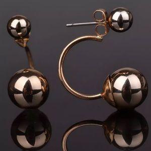 ❤ BOGO Double ball stud earrings